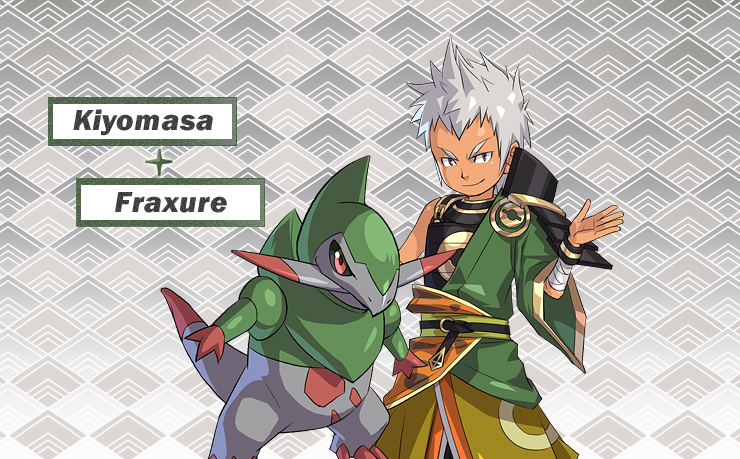 Pokémon Nobunaga no Yabō (Yabou / Yabô) - Pokémon Conquest Nobunaga_Kiyomasa