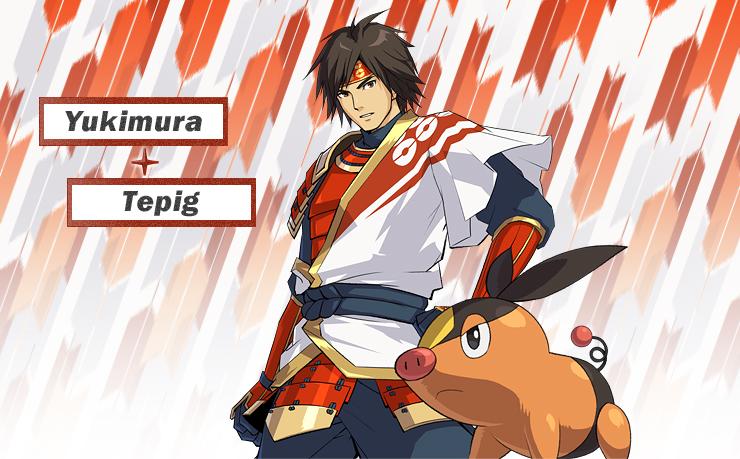 Pokémon Nobunaga no Yabō (Yabou / Yabô) - Pokémon Conquest Nobunaga_Yukimura