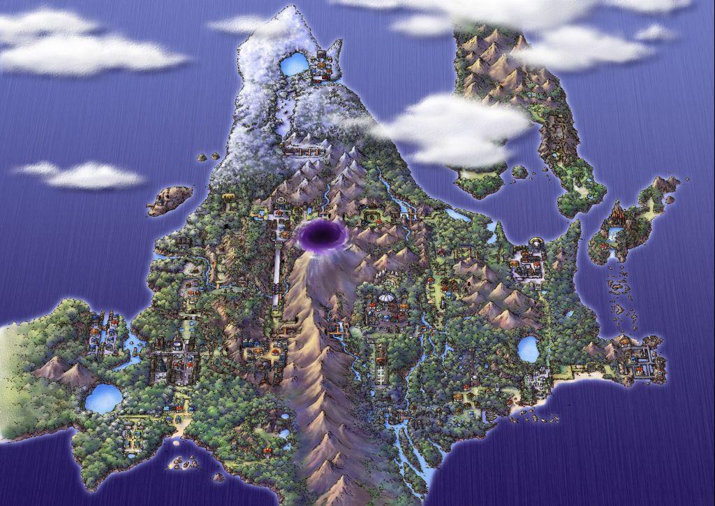 Die Geheimnisse der Pokemon-Gebirge? Sinnoh-Region_Platinum