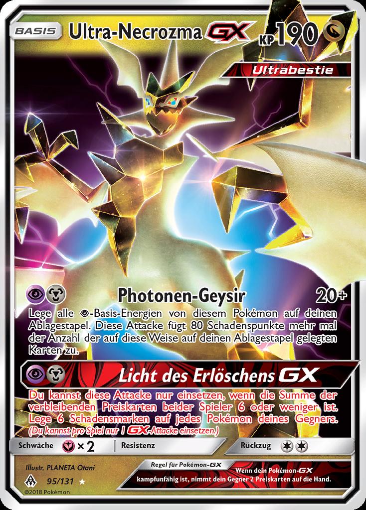 Ultra-Necrozma-GX aus Grauen der Lichtfinsternis