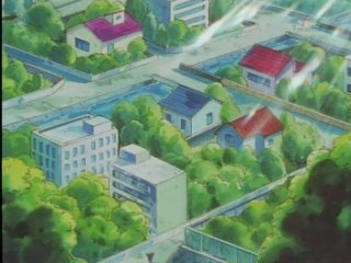 Azuria City - Stadt AzuriaAnime