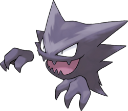 Butterfree-Pokémon wird von Ash Ketchums großem Schwanz im Freien trainiert