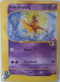 Willis Girafarig (Pokémon Card ★ VS 078).jpg