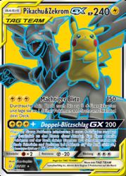 Pikachu Zekrom Gx Teams Sind Trumpf 33 Pokéwiki