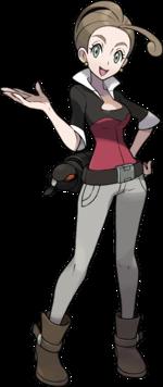 Sandra pokemon nackt arenaleiterin Findet ihr