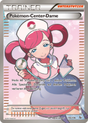 Pokémon-Center-Dame (Flammenmeer 105).png